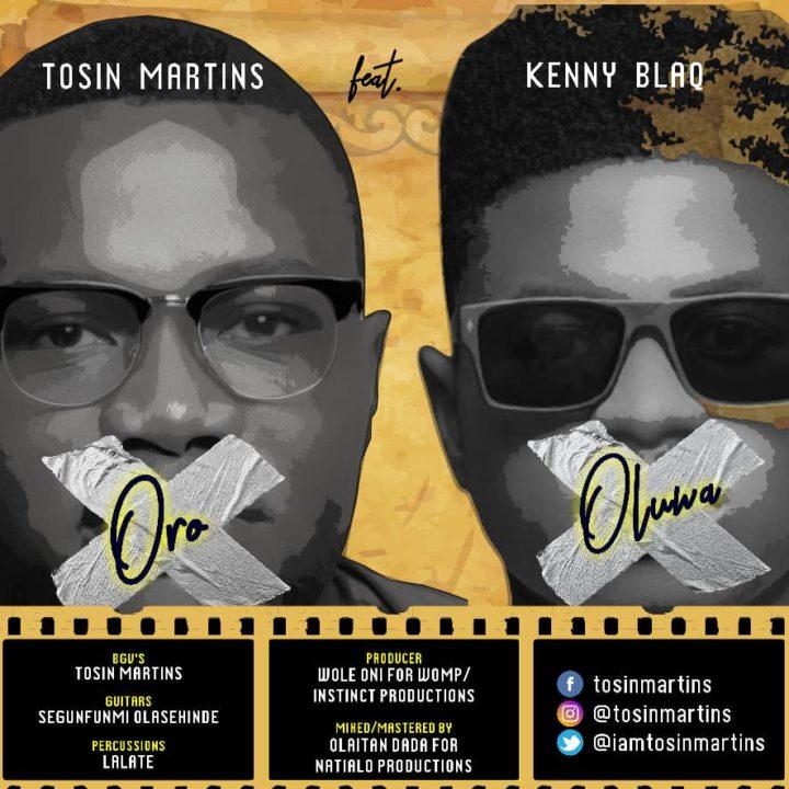 Tosin Martins ft. Kenny Blaq - Oro Oluwa