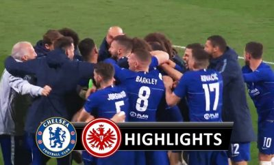 Chelsea vs Eintracht Frankfurt All Goals & Highlights