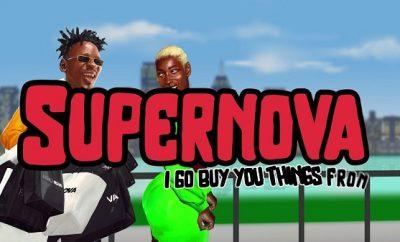 Mr Eazi Supernova Visualizer