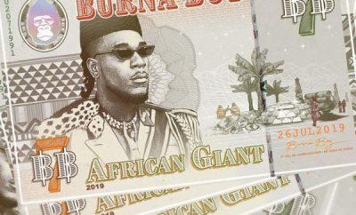 burna boy african giant album