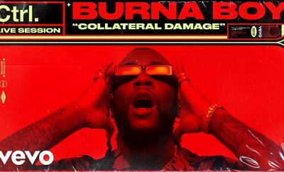burna boy collateral damage live session vevo ctrl