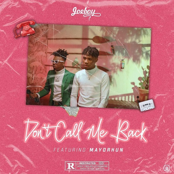 joeboy dont call me back lyrics