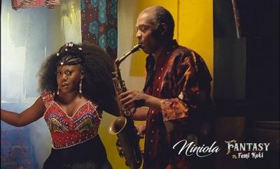 niniola fantasy ft femi kuti video