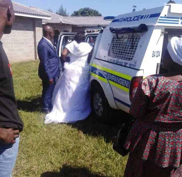 Couple and 50 guests arrested for holding church wedding amid Coronavirus