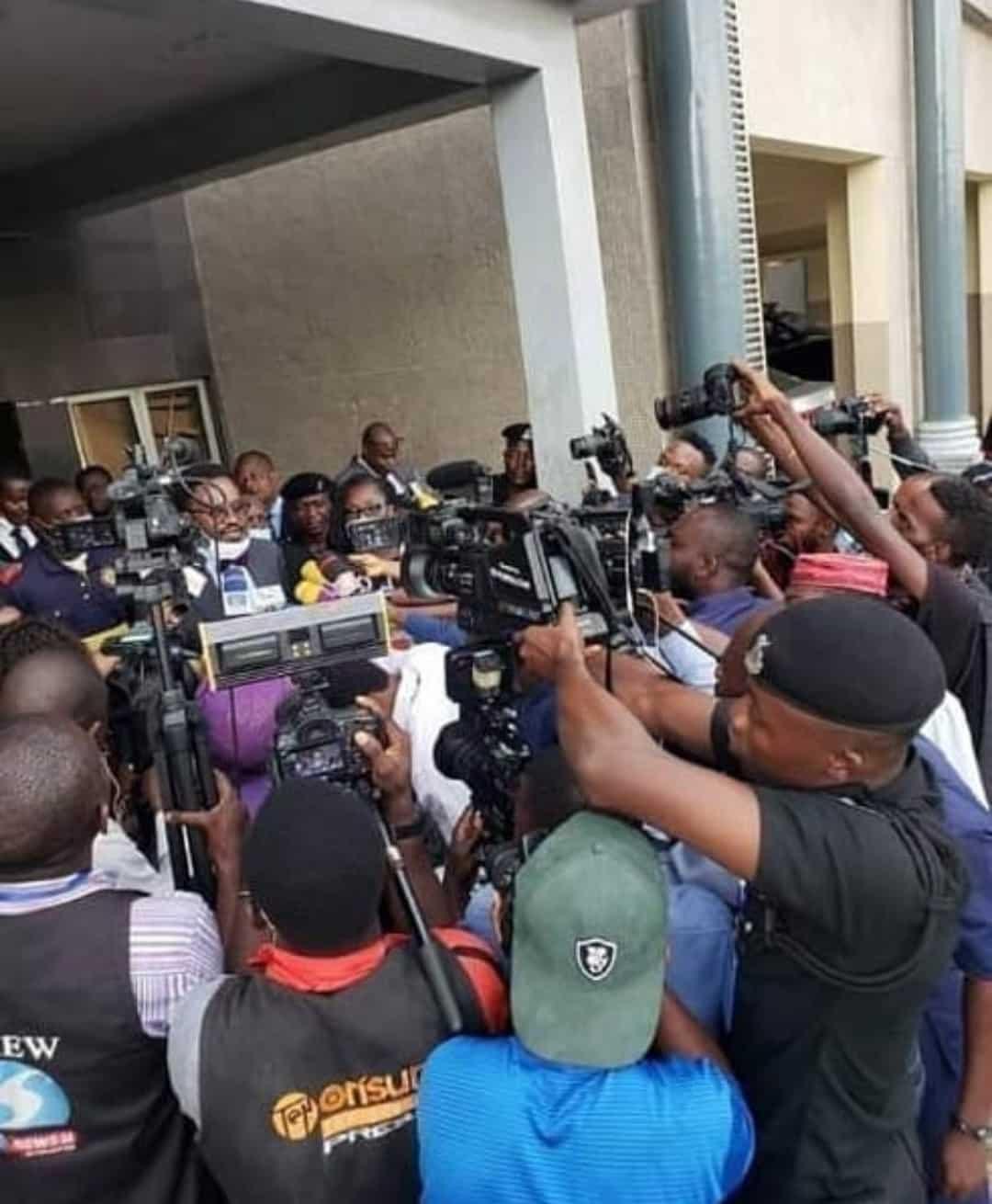 Senator Dino Melaye reacts to Funke Akindele's prosecution
